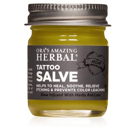 Tattoo Cream, Tattoo Moisturizer, Made In USA, Organic Ingredients, Ora's Amazing Herbal