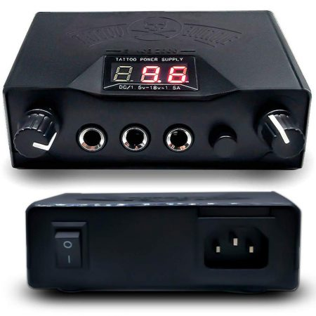 Professional LCD Dual Tattoo Power Supply By Yakecan