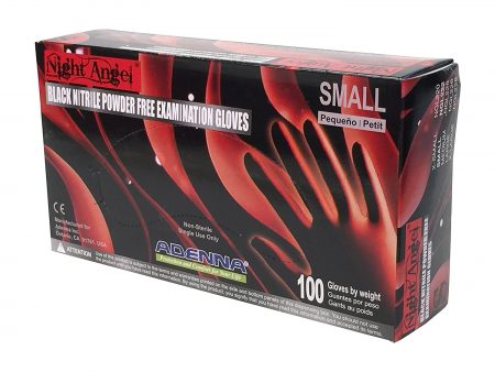 Adenna Night Angel 4 Mil Nitrile Powder Free Exam Gloves