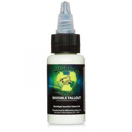 Moms Nuclear UV Tattoo Ink Invisible Fallout Ultra Violet US 1oz