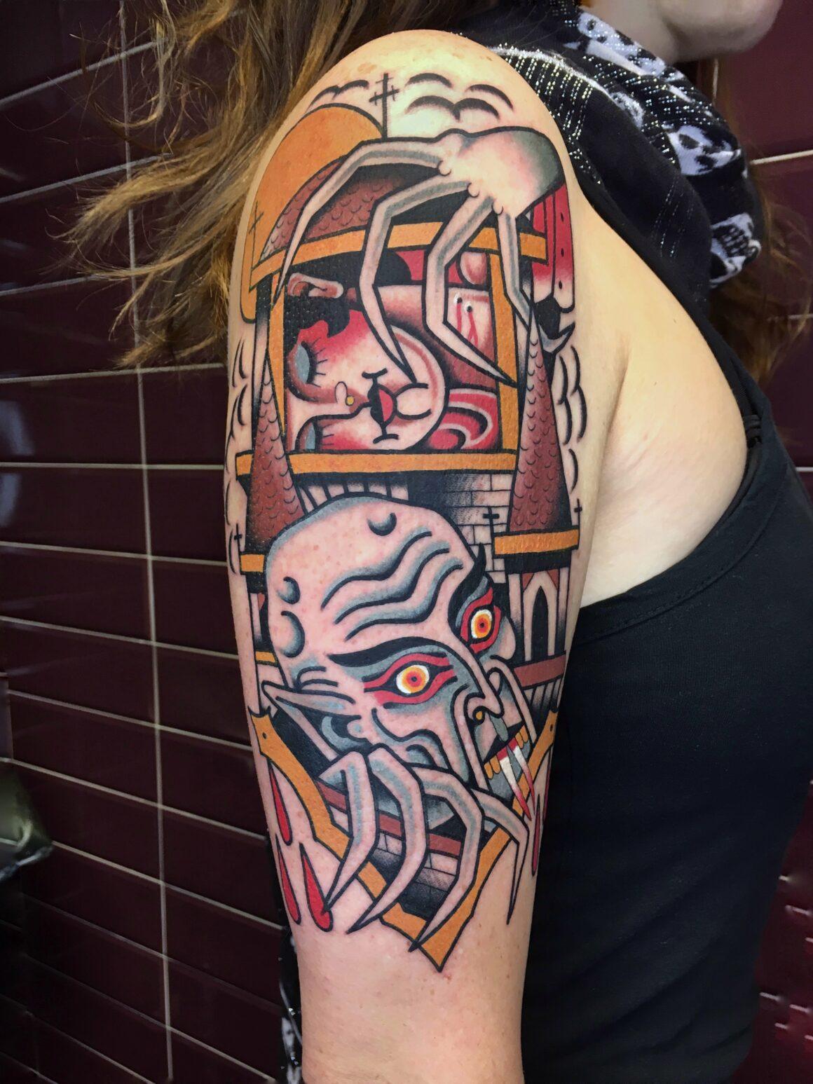 Francesco Garbuggino, Ink 'N' Roll Tattoo, Genova, Italy