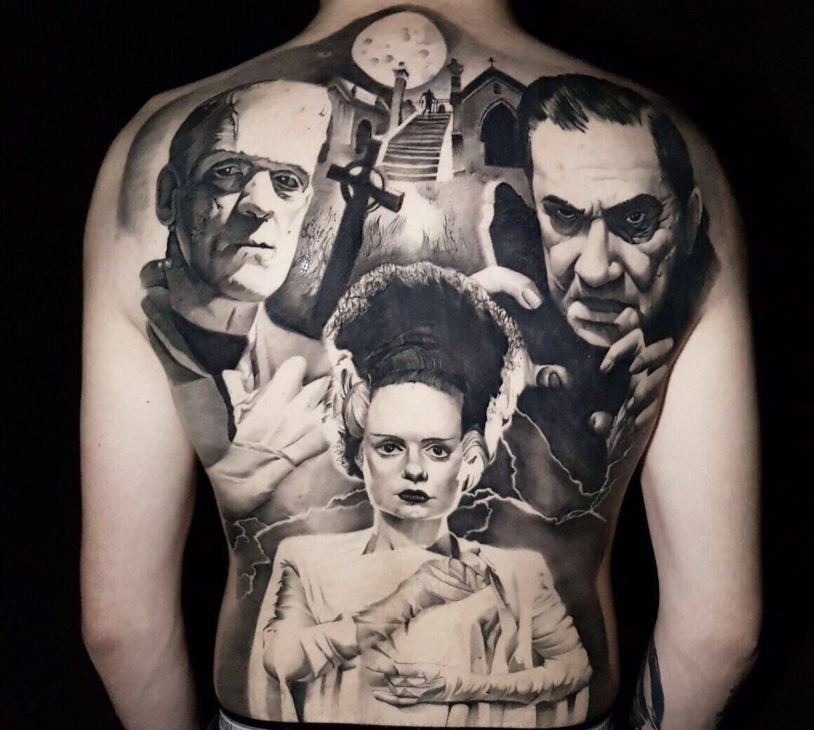 Fabio Guerrreiro, True World Tattoo, Albufeira, Portugal