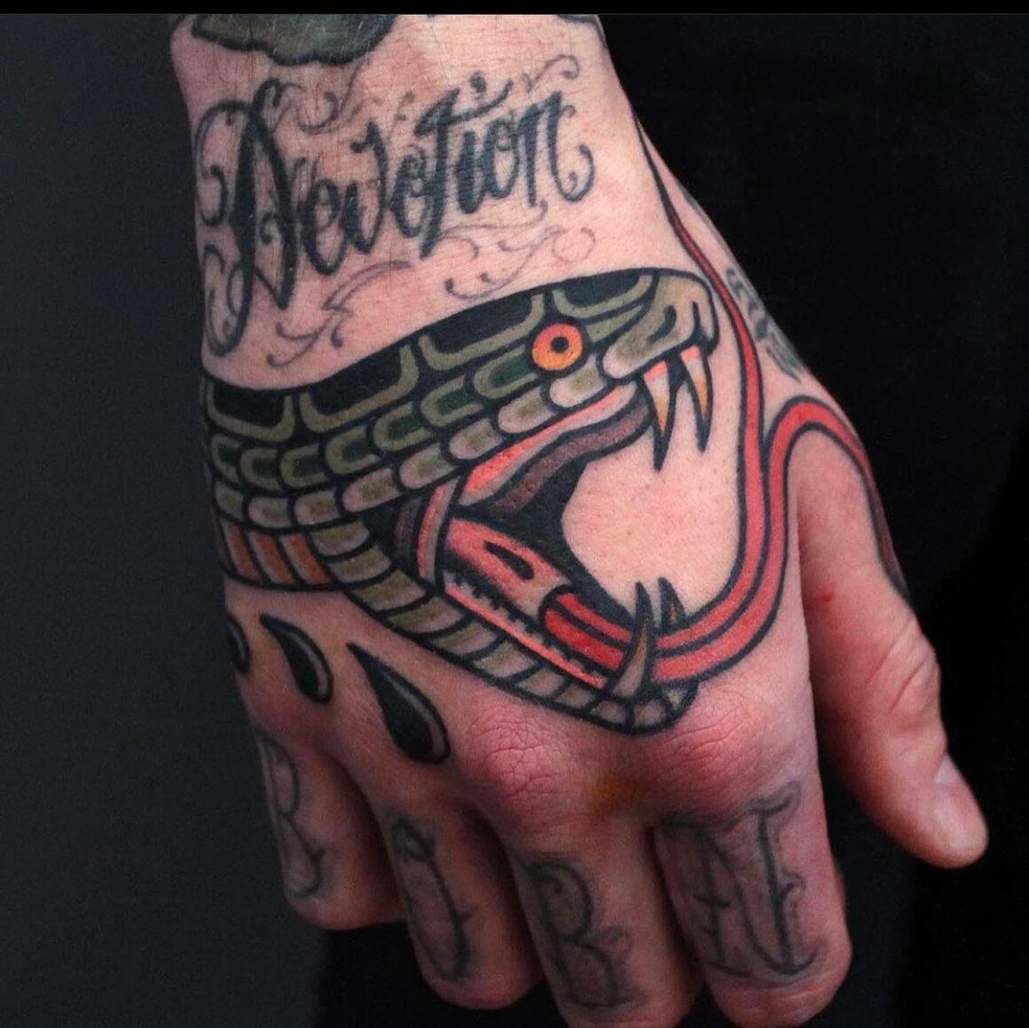 Tony Nillson, Blue Artms Tattoo, Oslo, Norway