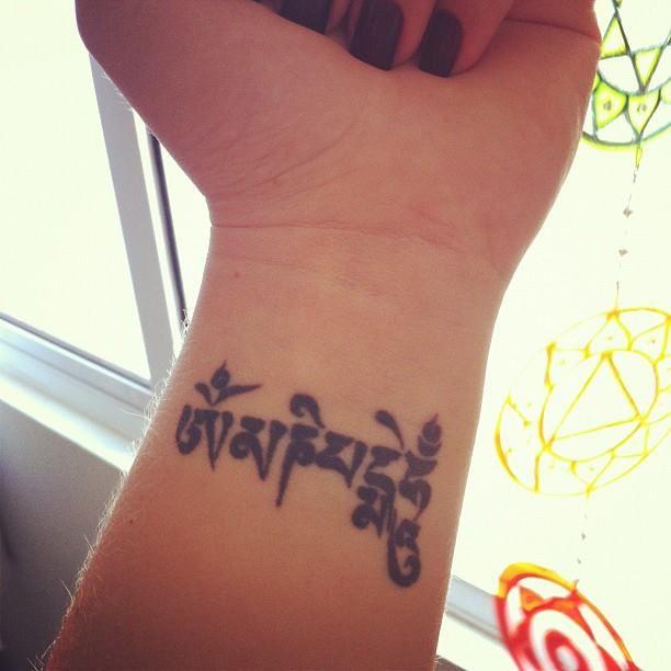 Tattoo Ideas Om Mani Padme Hum 20
