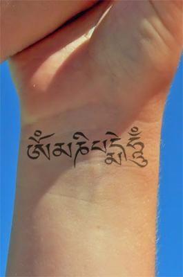 Tattoo Om Mani Padme Hum 9