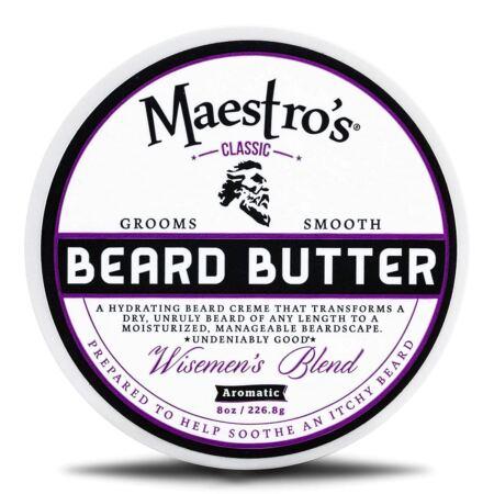 Maestro's Classic Wisemen's Blend 8oz. Beard Butter