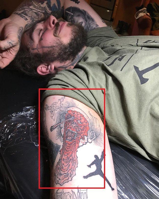 67 Ghost Tattoo