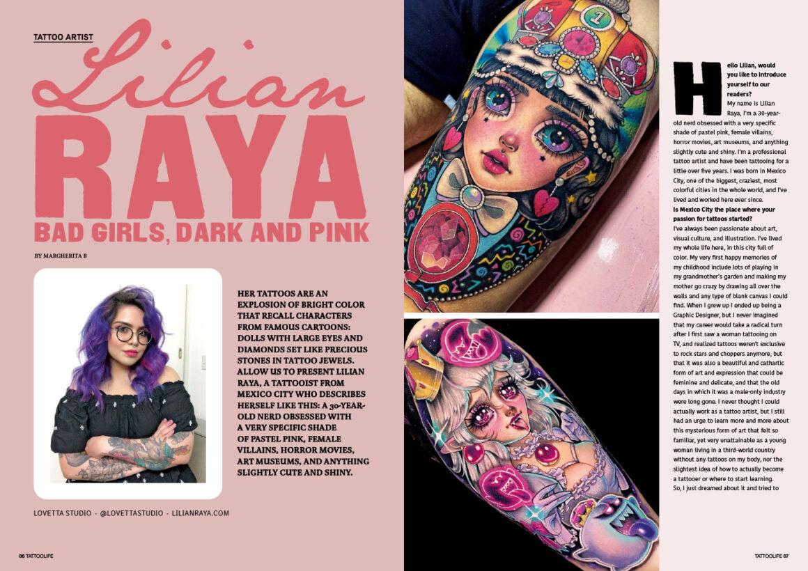 Lilian Raya: Bad girls, dark and pink