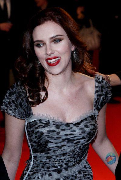 Scarlett Johansson Sunrise Tattoo