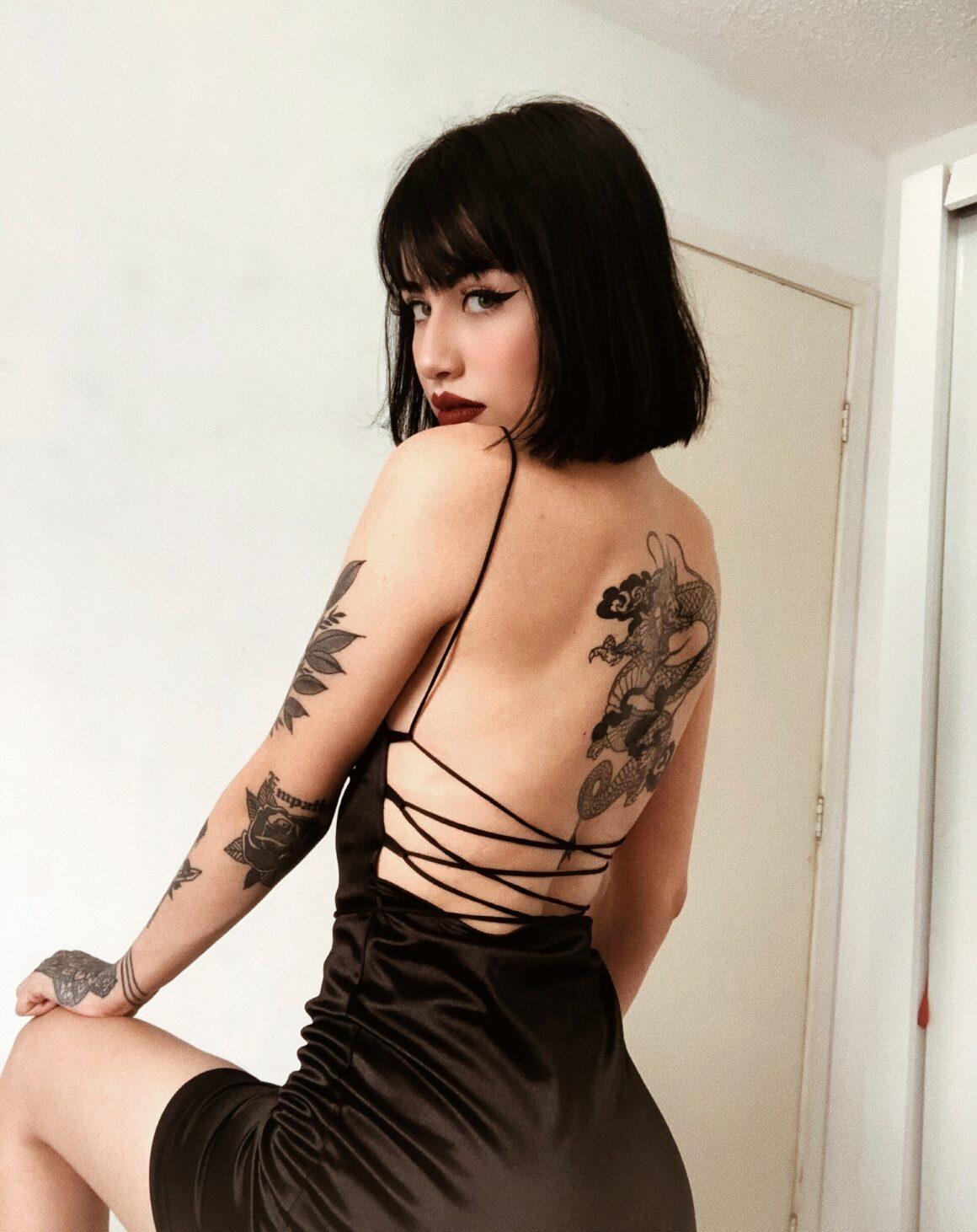 Duda tattoo model