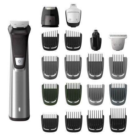 Philips Norelco Multigroom Series 7000 23 Piece Men's Grooming Kit, Trimmer For Beard