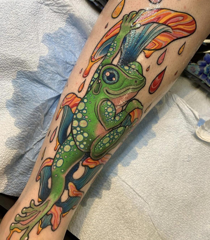 Melissa Varney, Optic Nerve Arts Tattoo, Portland, USA