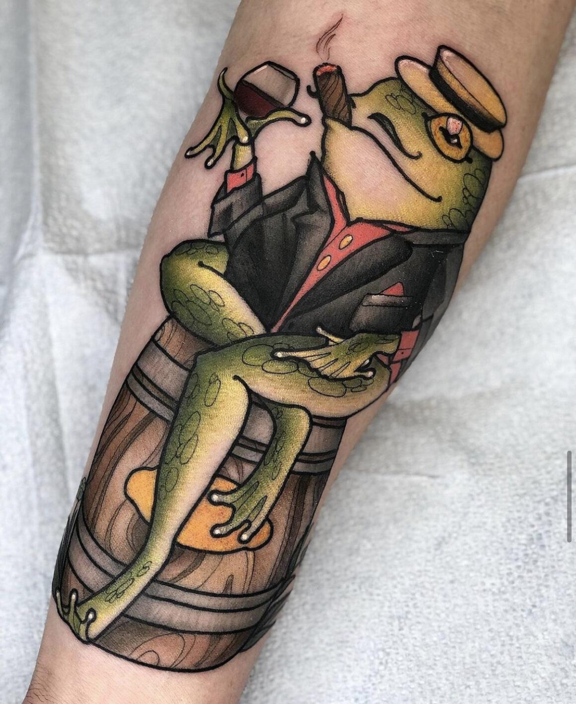 Kira Knowlton, White Lodge Tattoo And Gallery, Glenwood Springs, USA