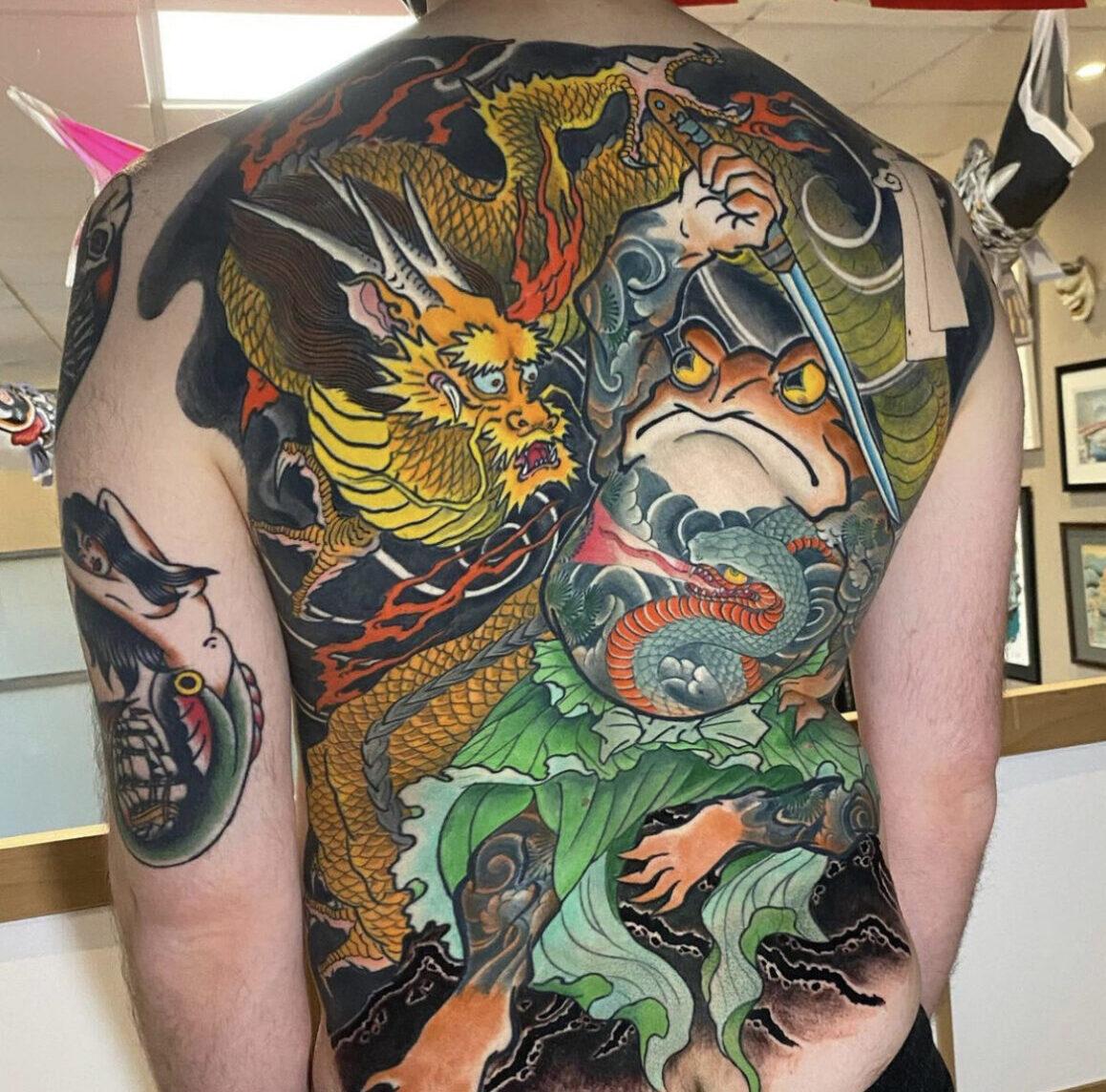 Jee Sayalero, Humanfly Tattoo, Madrid, Spain