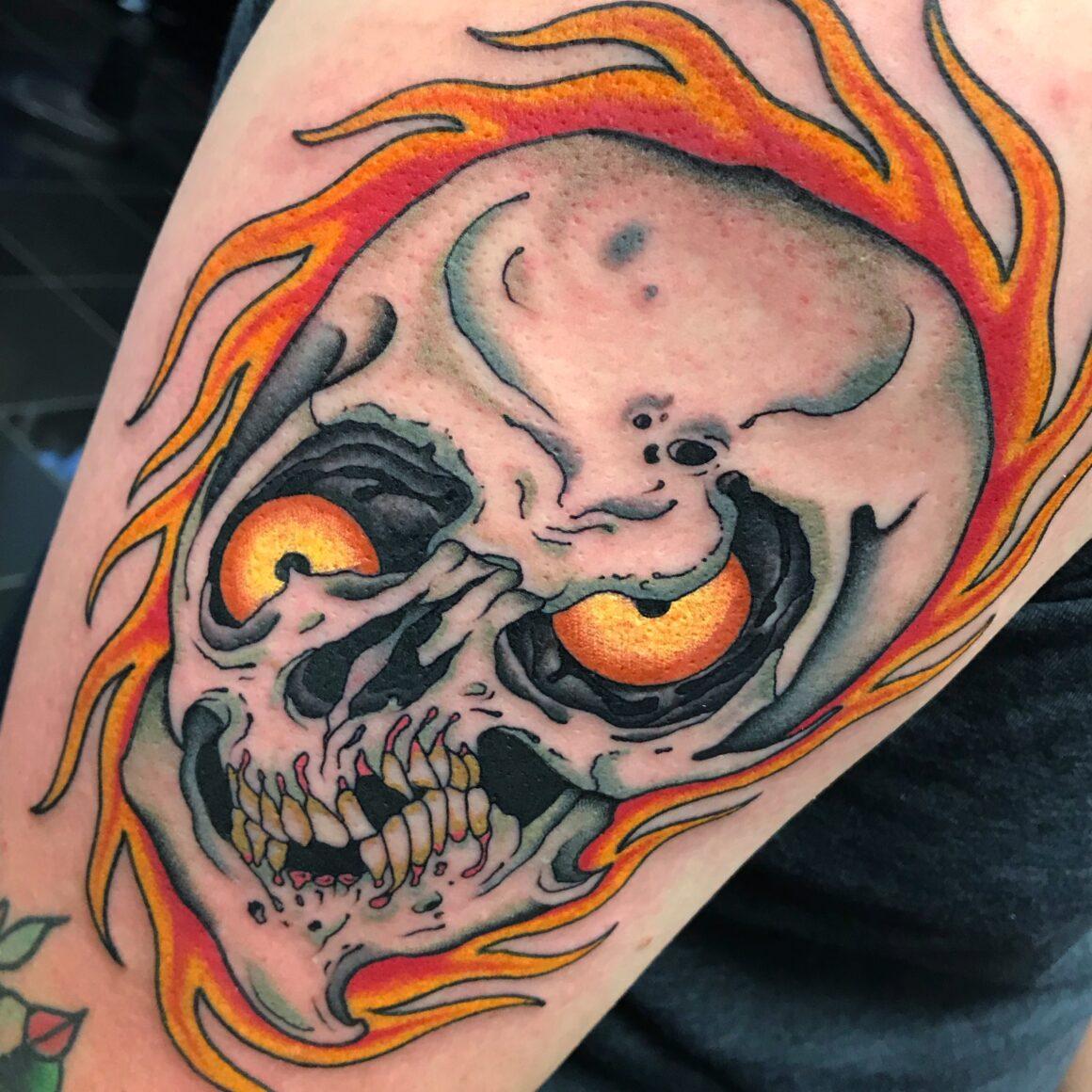 Shaun Topper, Captured Tattoo, Tustin, California