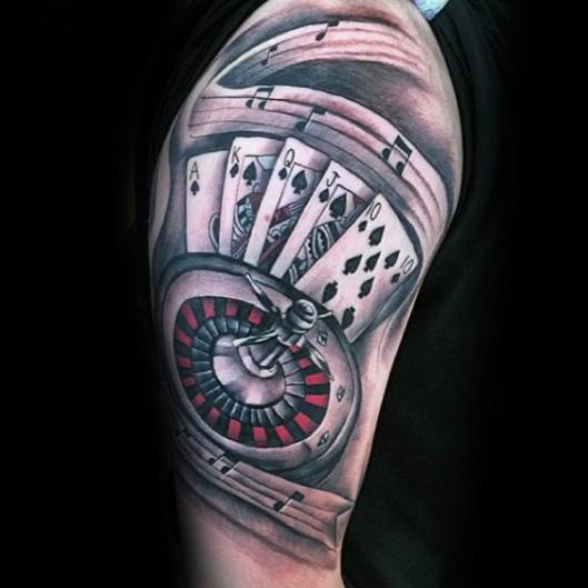 Casino Games Tattoo